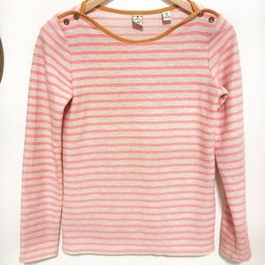 Anthro scotch and soda sweater shirt pink cream